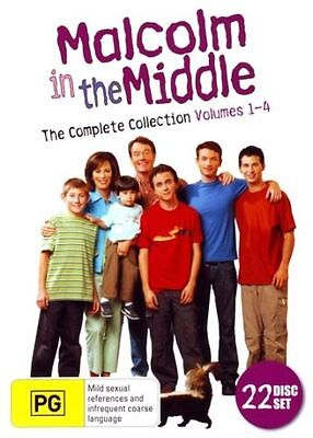 MALCOLM IN THE MIDDLE - COMPLETE SERIES DVD 22-Disc NEW R4 Season 1 2 3 4 5 6 7