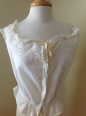 Lot Of 5 Pieces Of Women's Antique Trousseau Clothing From 1882 With Provenance