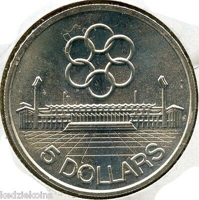 Singapore 1973 Silver Coin $5 Seventh SEAP Games - 5 Dollars - KQ946