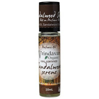 Vrindavan Perfume Oil Sandalwood Serene 10ml