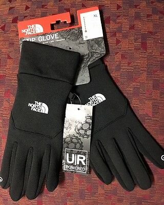 The North Face Unisex Etip Gloves - TNF Black - Extra Large - #A7LN NEW
