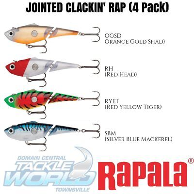 Rapala Jointed Clackin Rap 14 (4 Lure Value Pack) BRAND NEW