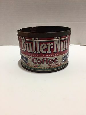 vintage Lion coffee can tin embossed No lid  1 lb.