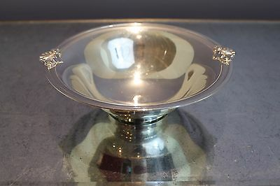 """Tiffany Co Makers Art Deco Sterling Silver Centerpiece Bowl 8.5"""" 387 Grams"""