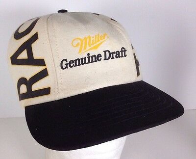 MILLER GENUINE DRAFT Racing Team MGD Adjustable Black Baseball Hat ... ccd8786f342a