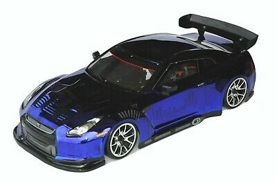 1:10 RC Clear Lexan Body Shell Nissan GTR35 190mm Electric Colt suit Tamiya