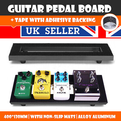 Guitar Pedal Board Setup Pedalboards +Trolley Fixed Effects Tape Adhesive Back