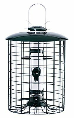 WOOD-WLC6S-Woodlink WLC6S Caged 6-Port Seed Tube Feeder