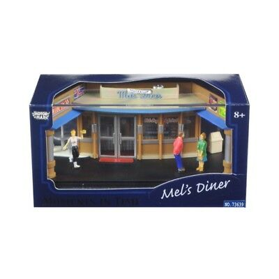 ANAA-73639M-Motormax 1/64 Scale Moments in Time Mels Diner Diorama