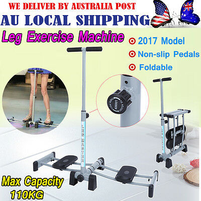 2017 Foldable Cardio Leg Exercise Fitness Stepper Machine For Thighs and Buttock