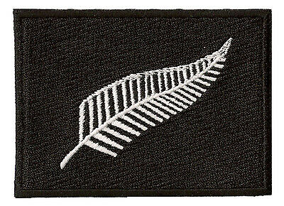 Patche écusson brodé New Zealand All Blacks thermocollant iron-on ecusson patch