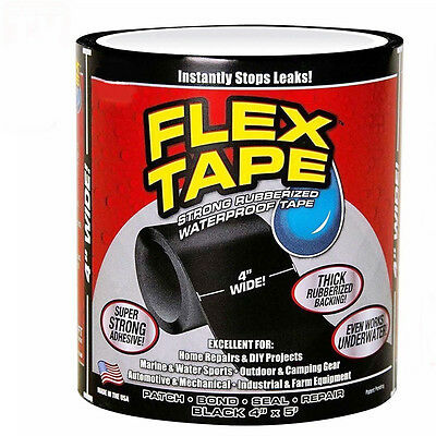 Strong Tape Flex Wide Self Fusing Wire Pipe Repair Silicone Waterproof Super