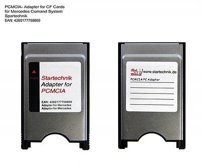 PCMCIA adaptateur pour Compactflash cartes (CF Card) Mercedes COMAND APS: adapta