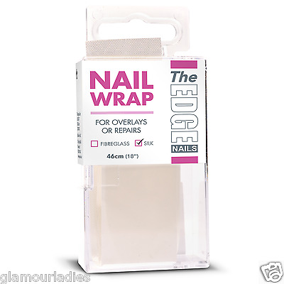"THE EDGE NAILS 46cm (18"") Silk Nails Wrap Strip for Silk Systems"