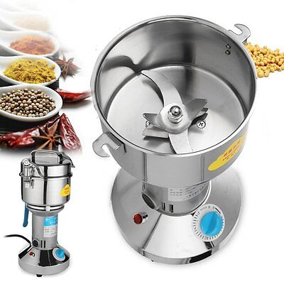 1000g Home Electric Herb Grain Mill Grinder Herbs Grinding Flour Machine 220V