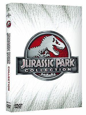 Jurassic Park Collection (4 DVD) - ITALIANO ORIGINALE SIGILLATO -