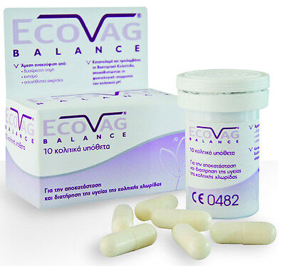 10 20 30 FREZYDERM ECOVAG BALANCE Lactobacillus Vaginal Suppositories OVULES