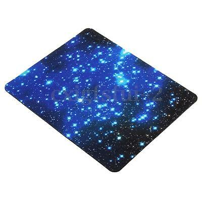 Blue Starry Sky Mousepad Anti-Slip Gel Mice Gaming Mouse Pad for Computer Laptop