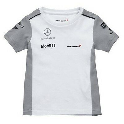 T-SHIRT Baby Formula One 1 Team McLaren F1 NEW Kids 2014 Small  1-2 Years