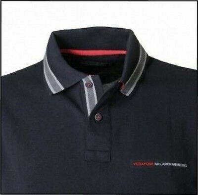 POLO Shirt Formula One 1 Vodafone McLaren Mercedes F1 Team Button NEW 2012 SMALL