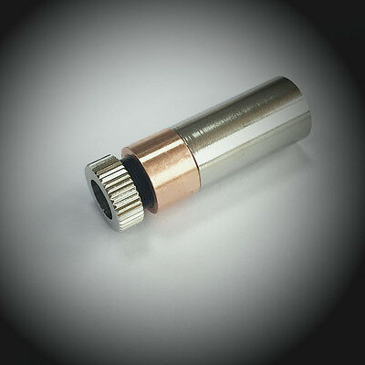 Red Copper Laser Module Housing 12x35mm for 5.6mm TO-18 LD with 405nm Glass Lens