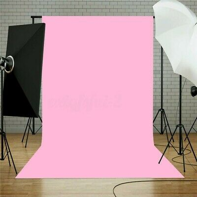 Photo Pure Pink Photography Props Background Cloth Backdrop For Studio 5x7FT