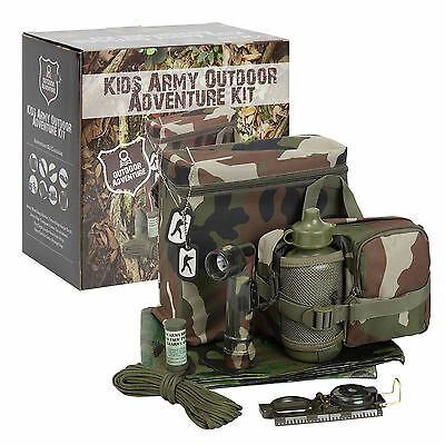 Kids Army Outdoor Adventure Kit Military Roleplay Set