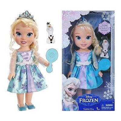 Disney Frozen Toddler Elsa Doll With Reflection Eyes