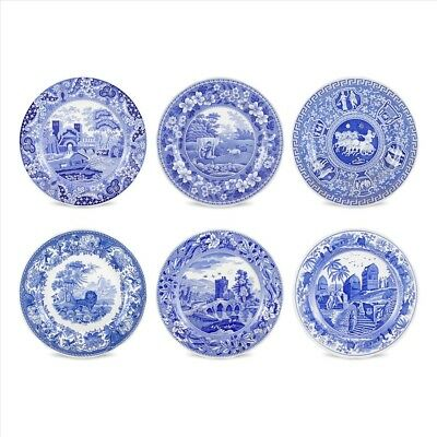 New Spode Blue Room S/6 Traditions Plates