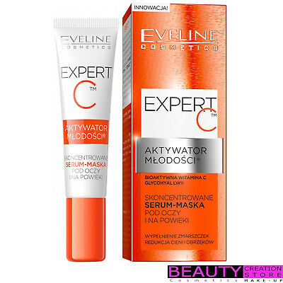 EVELINE Expert C Youth Activator Serum Intensive Concentr. Mask Under Eye EV144