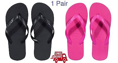 14e3ea442b26a6 1 x Pair Individual Zohula Flip Flops Black White Pink Wedding Summer Beach