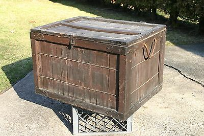 Vintage / Primitive Bakery Delivery Crate - Bread Baking Co. Cleveland - RARE