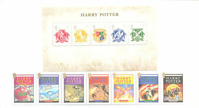 Great Britain Harry Potter collection mnh set and sheet