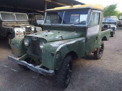 Land Rover Series 1 SWB 88 inch. Superb Chassis and Bulkhead