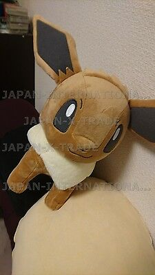 🔥❤ GIANT I Love Eevee Eievui Large Pokemon Plush Toy Banpresto Japan Sun & Moon