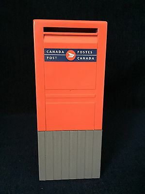 Canada Post Mailbox Coin Bank Plastic