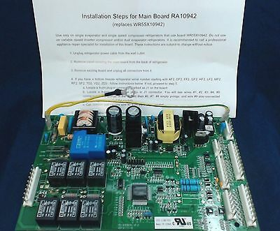 WR55X10942R - Remanufactured Control Board for General Electric Refrigerator+