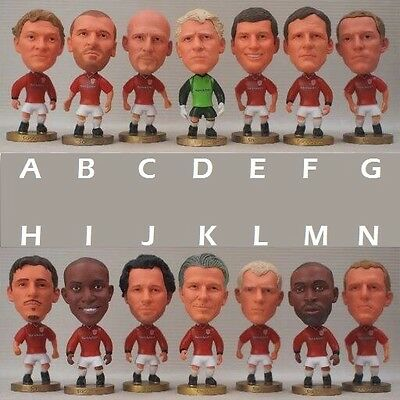 Statuina 1998/99 MANCHESTER UNITED players dolls football action figures man utd