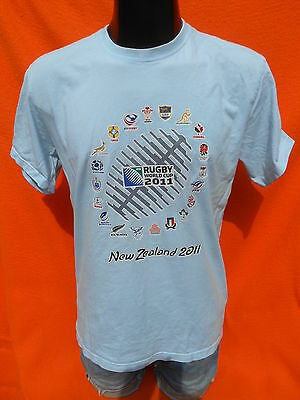 NEW ZEALAND T Shirt World Cup 2011 Rugby Originals Official License Nation IRB