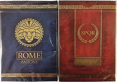 ROME: Antony & Caesar 2 Deck Set Playing Cards Poker Size LPCC Custom Limited