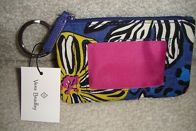 "Vera Bradley  Zip Id Case ""rio"" Retired Pattern  New With Tags! $12"