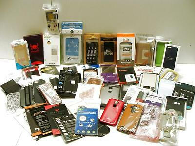 iPhone Samsung Sony Smartphone Cases Covers Protectors Lot of 53 New