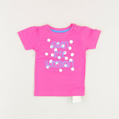 Camiseta color Rosa marca Early days 9 Meses