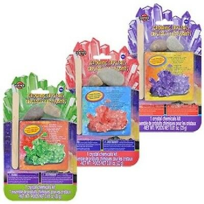 New CREATIVE KIDS SCIENCE CRYSTAL GROWING KIT AGES 10+ Random Pick Color