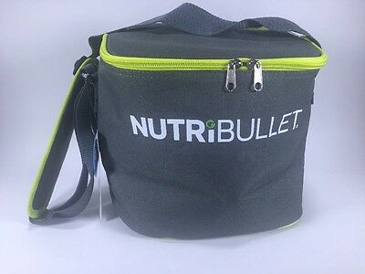 NutriBullet Insulated Carry Bag To-Go Travel Portable Blade Cup Lid Blender #L3