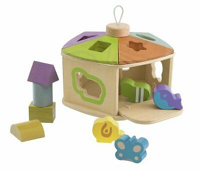 Chicco Chicco Cottage Wooden Shape Sorter