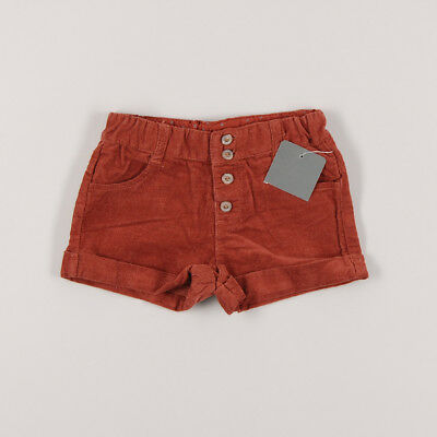 Shorts de micropana con dobladillo color Marrón marca Zara 6 Meses