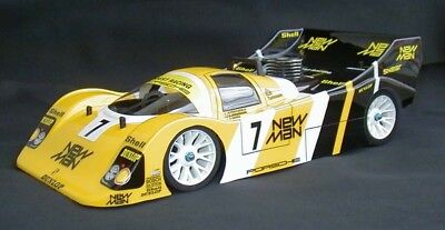 1:10 RC Clear Lexan Body Porsche 962C 190mm for Electric powered Tamiya etc5