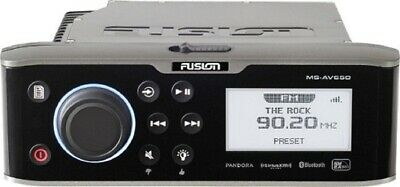 Fusion MS-AV650 Marine Radio Stereo System Bluetooth DVD/CD Player SiriusXM Rdy