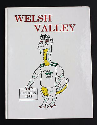 Welsh Valley Middle School 1988 Yearbook Year Book, Narberth PA Pennsylvania 88